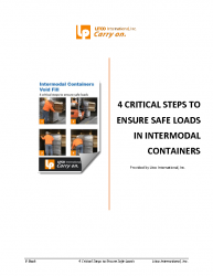 4 Critical Steps to Ensure Safe Loads in Intermodal Containers